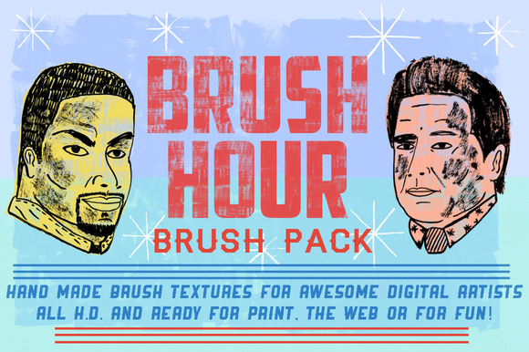BRUSH HOUR Brush Pack