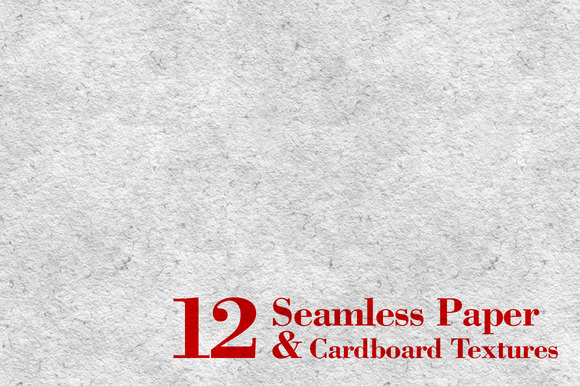 12 Seamless Paper Cardboard Textures