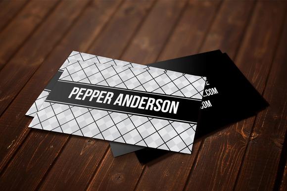 Pepper Business Card Template