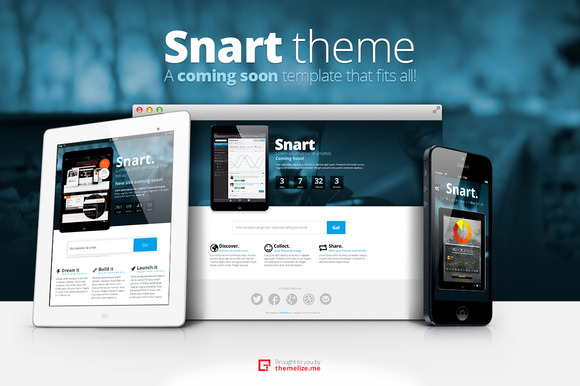 Snart Coming Soon Templates