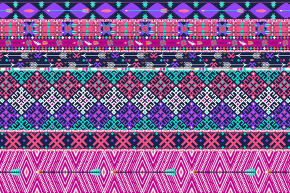 Tribal Seamless Aztec Pattern