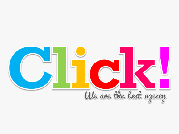 Colorful Click PowerPoint Template