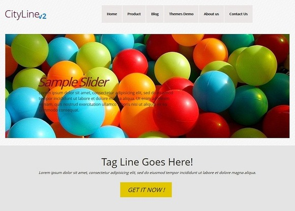 CityLine Multi Use WordPress Theme
