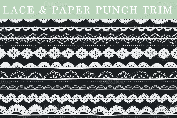 Lace Paper Punch Trim