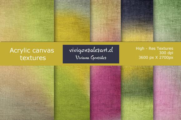 Acrylic Canvas Textures