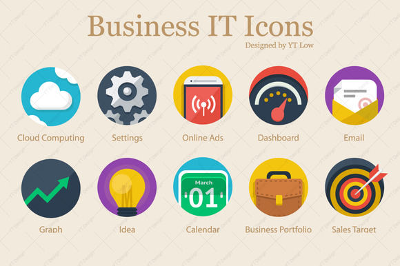 Business IT Icons