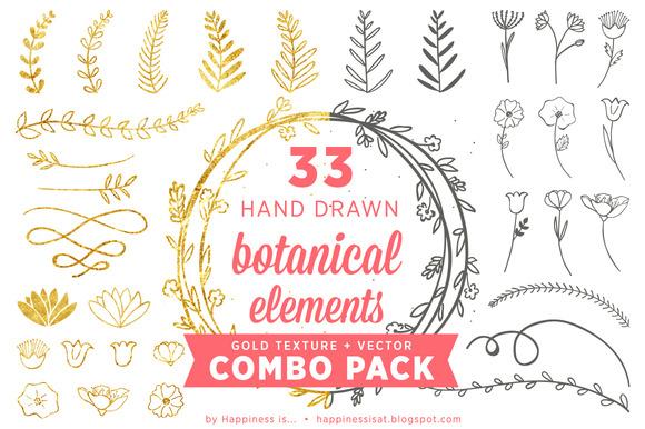 Botanical Elements Combo Pack