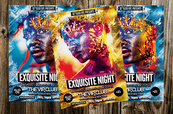 Exquisite Night Party Flyer