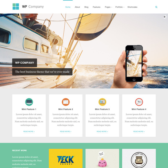 Company Responsive Business Theme