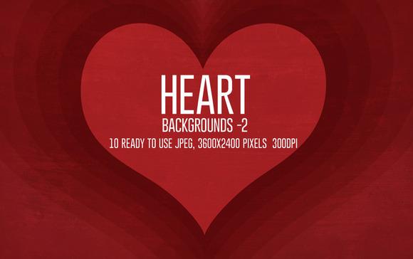 Heart Valentine Backgrounds