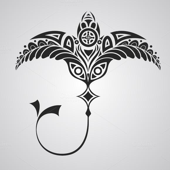 Vector Tattoo Numbfish