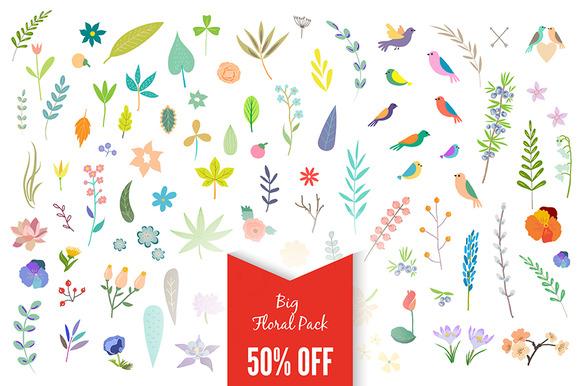 Big Vintage Floral Pack 50% Off