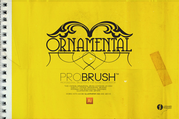 Brush Ornamental ProBrush