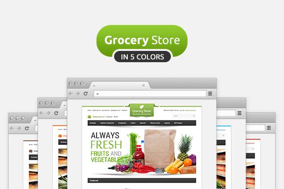Grocery Store Premium OpenCart Theme