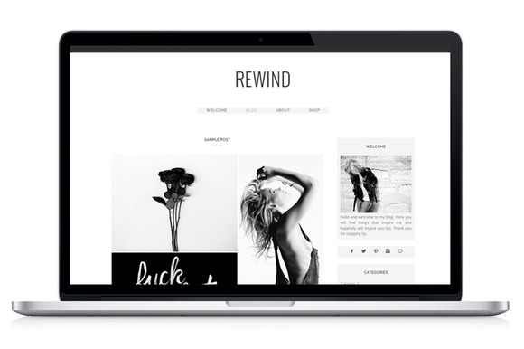 Wordpress Theme Rewind