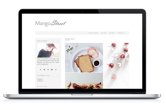 Wordpress Theme Mango Street