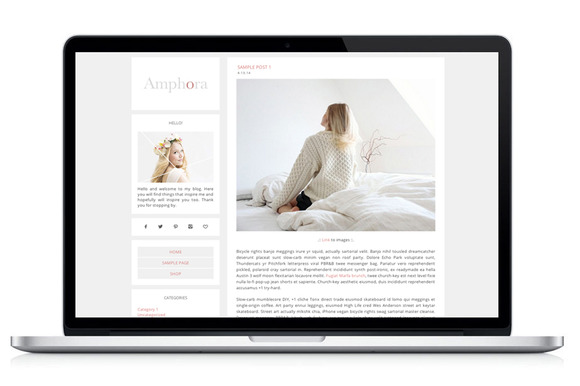Wordpress Theme Amphora