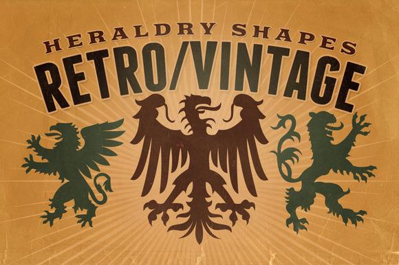 Vintage Shapes Heraldry Symbols 2