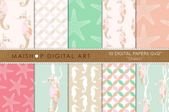 Digital Paper-Shawn