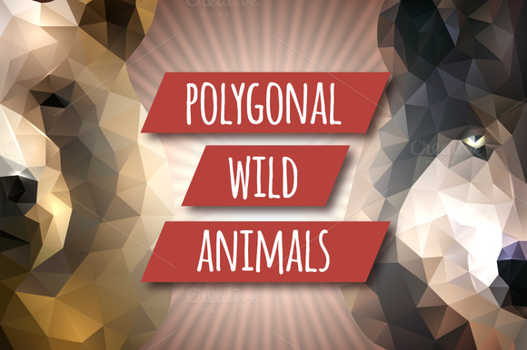 Polygonal Wild Animals