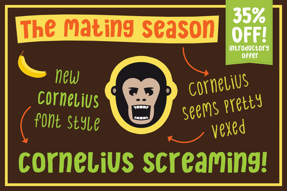 Cornelius Screaming 35% Off