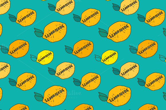 Vector Lemonade Patterns