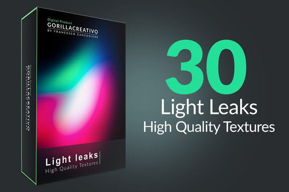 Light Leaks High Quality Textures