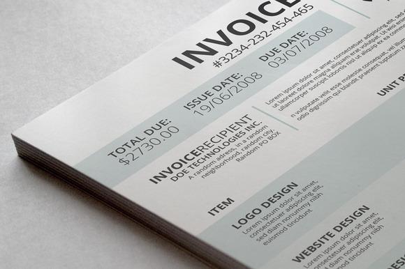 Professional Invoice