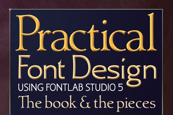 Practical Font Design Book Package