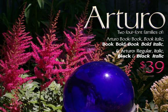 Arturo Font Families 8-fonts