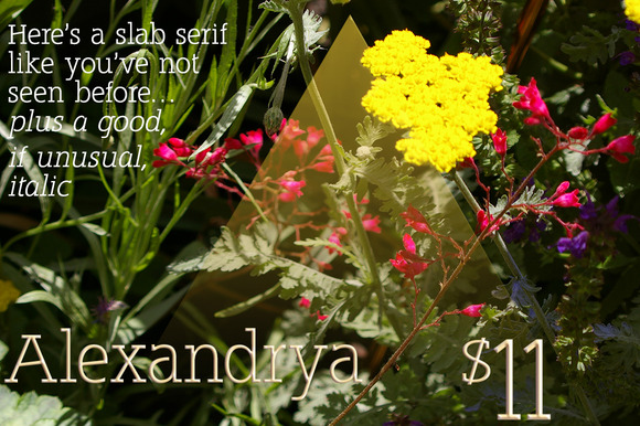 Alexandrya A Modern Slab Serif