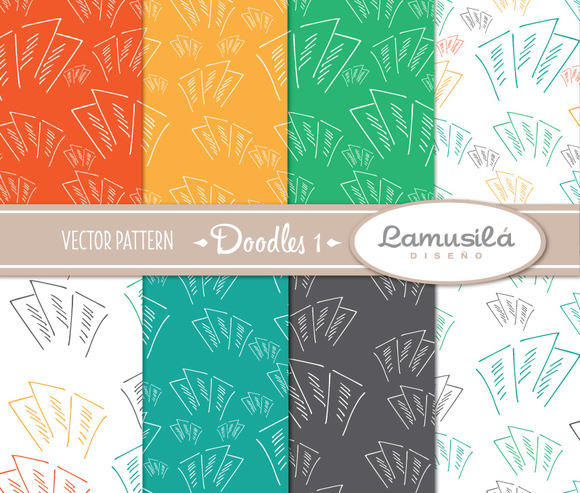 Doodle 1 Vector Pattern