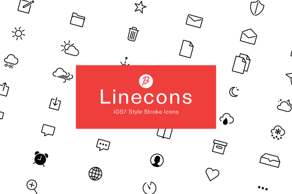 LineCons 84 Font Icons