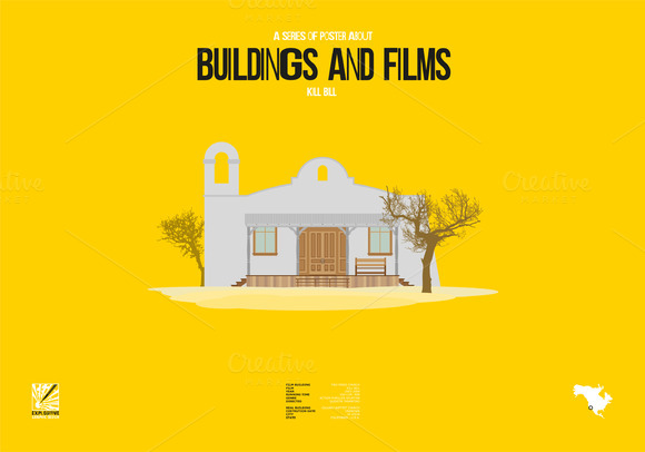 Buildings And Films Kill Bill