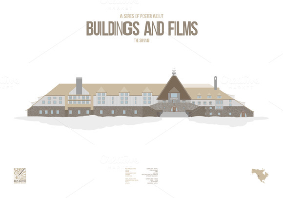 Buildings And Films The Shining