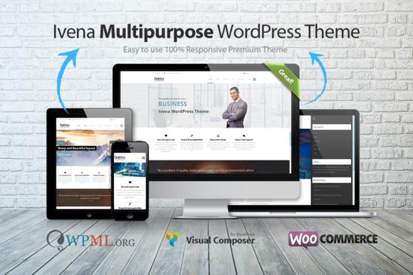Ivena Multipurpose WordPress Theme