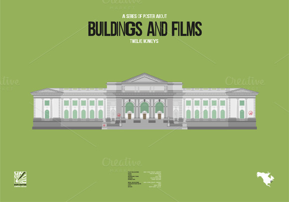 Buildings And Films Twelve Monkeys