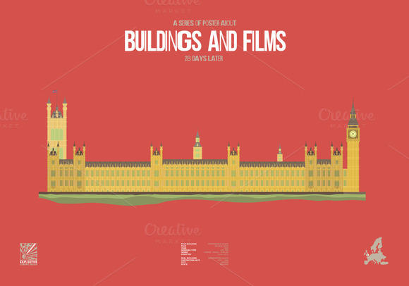 Buildings And Films 28 Days Later