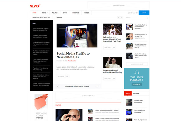 News WordPress Magazine Theme