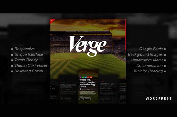 The Verge Modern WordPress Theme