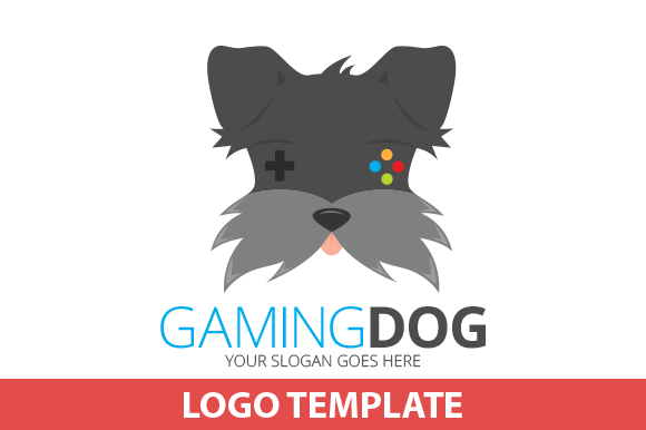 Gaming Dog Logo Template