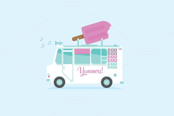 Ice Cream Truck Shop