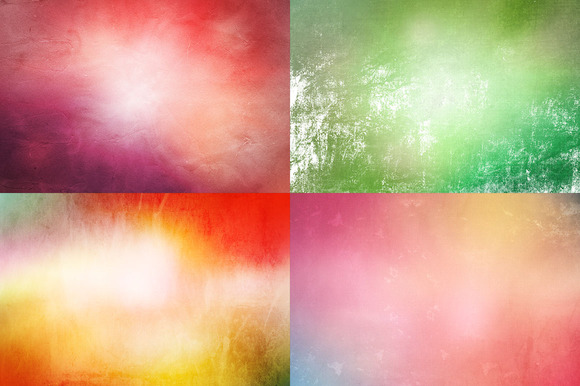 12 High Res Color Grunge Textures
