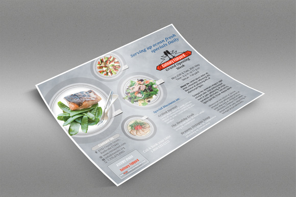 Multipurpose Restaurant Flyer