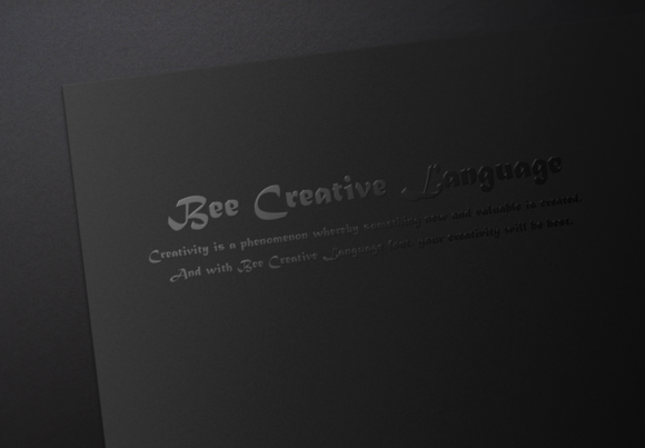 Bee Creative Language