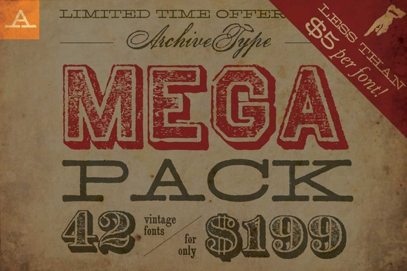 Limited Time Mega Pack Offer