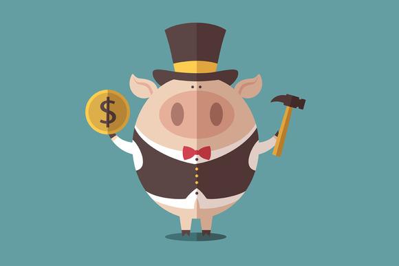Character Piggy Bank