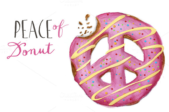 Peace Of Donut