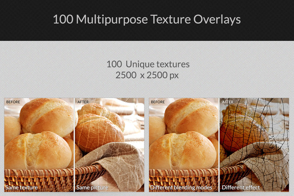 100 Multi-purpose Texture Overlays