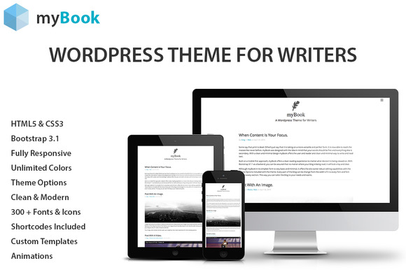 MyBook Wordpress Theme